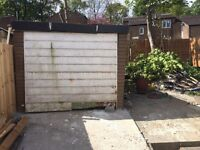 Free concrete garage