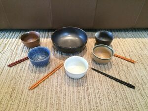NEW Authentic Japanese rice bowls set