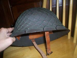 Antique casque de guerre