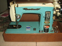 Vintage Brother Sewing Machine in Carrying Case