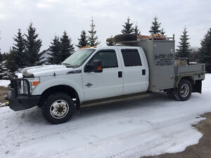 F350 diesel dually cab and chassis 4x4 mechanics service truck