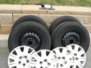 Michelin X ICE Winter Tires and Honda Steel Rims