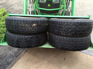 """TOYO Winter tires and Rims - 4x15"""" ST. CATHARINE'S AREA"""