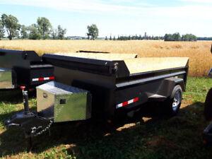 NEW Single axle dump trailer Heavy duty 5200lbs