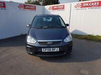 2008 08 FORD FOCUS C-MAX 1.6 16V STYLE.NEW CLUTCH.FULL MOT.2 KEYS.S/HISTORY .