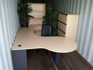 Complete Office furniture assembly