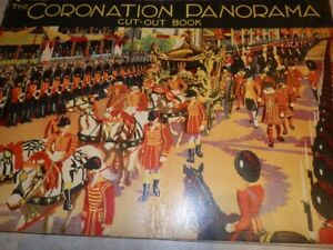The Coronation Panorama Cut-Out Book (1936)
