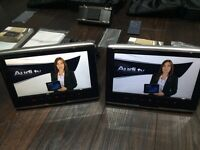 Audi portable DVD Screens/player x 2