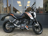 KTM Duke 125 ABS / Nationwide Delivery / Finance