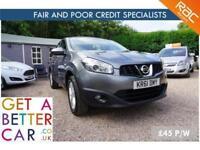 Nissan Qashqai Acenta Grey - 61 Reg - 55K - £45 PW - FAIR AND BAD CREDIT FINANCE
