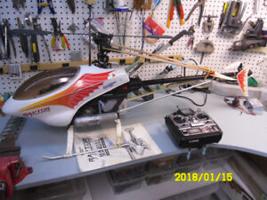 RC helicopter Thunder tiger raptor 30