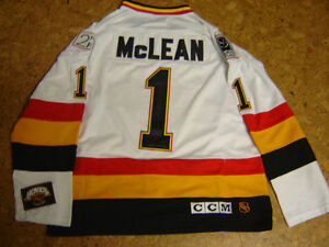 NEW AUTHENTIC KIRK MacLEAN NHL CANUCKS JERSEY