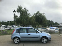2006 Ford Fiesta 1.4 Zetec Climate 5 Door Hatchbck Blue