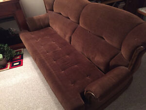 Antique Hide-A-Bed Couch