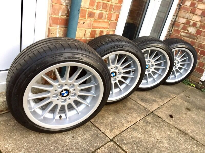 Bmw Genuine Style 32 Alloys Wheels 17 Quot Michelin Pilot