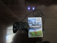 Xenoblade Chronicles for Wii *RARE*with Black Wii Pro Controller