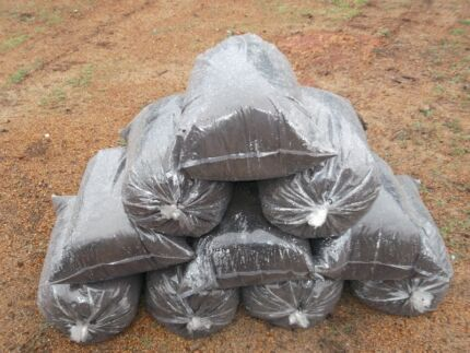SHEEP&COW / COW / MULTI-MIX MANURE BLACK MULCH *FREE DELIVERY