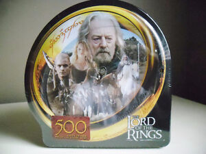 The Lord of the Rings 500 Piece Puzzle NEW in Tin Box