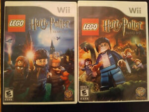 2 wii games Lego Harry Potter Years 1-4, and Years 5-7