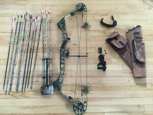 Selling a Darton compound bow and accessories