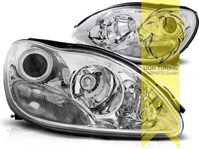 Scheinwerfer für Mercedes Benz W220 S-Klasse chrom