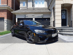BMW M4 with Dinan upgrades!! Carbon fiber skirts. Lady driven