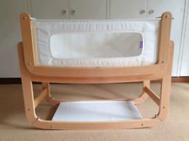 'Snüz' SnuzPod 2 3-in-1 Bedside Crib, Natural