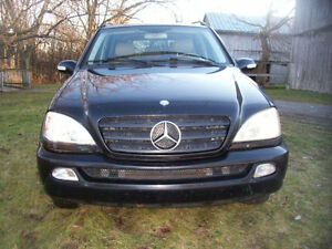 2002 Mercedes-Benz ML 320-Series VUS