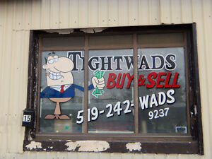 Window Art and Advertising / Hand Painted Signs Cambridge Kitchener Area image 7
