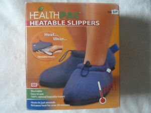 Small & Large Health Pac Heatable Slippers