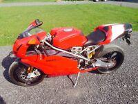 Ducati 999 R 2003 Superbike 7000 km