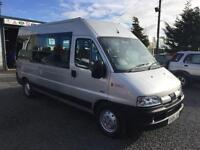 PEUGEOT BOXER 350 LX LWB 2.8 HDI Minbus 15 seater low miles 37194 only