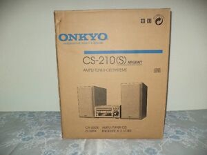 Brand new Onkyo Receive CD/tuner micro system