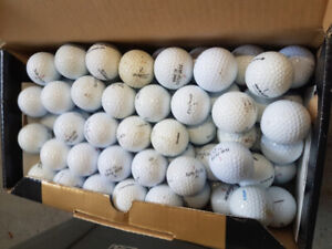 Shoe Boxes full of used golf balls