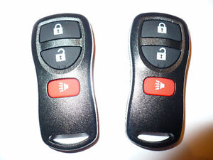 2 New Entry Remote Keyless For Nissan / Infiniti