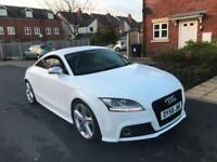 AUDI TTS QUATTRO 2.0T + MAG RIDE + WHITE FULLY LOADED PART EXCHANGE WELCOME +