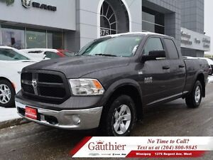2016 Ram 1500 Outdoorsman Quad 4x4 *LOCAL TRADE*