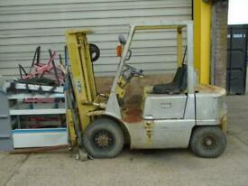MITSUBISHI DIESEL FORKLIFT CONTAINER SPEC SPARES OR REPAIR RUNS & DRIVES EXPORT