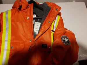 Brand new XXLg Orange One Piece Helly Hansen  Weyburn Suit