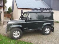 Land Rover 90 DEFENDER 300 TDI.County Hard Top, Storry 4x4