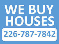 WE WILL BUY YOUR HOUSE - FAST!