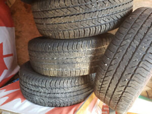 225,60,16 tires and ford rims 5 bolt