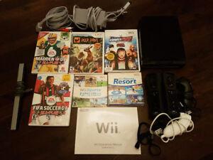 Nintendo Wii, Games, Controllers, Nunchuks + carrying case