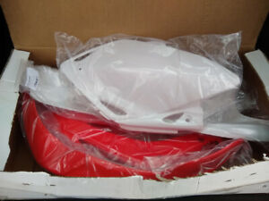 Full set CRF450x plastics. High quality, made in Italy.