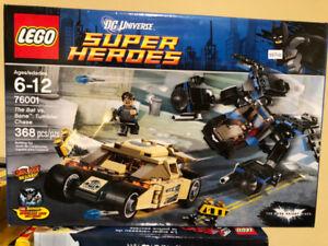 The Bat vs. Bane: Tumbler Chase NEW 76001 LEGO