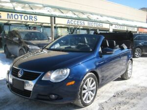 2010 Volkswagen Eos Convertible, Extra Clean, Leather, Auto