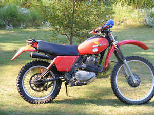 Wanted 1980s XR 250