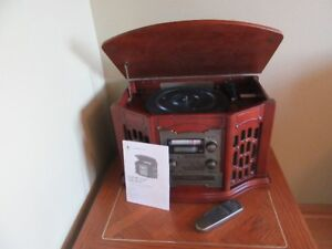 Wooden Music Centre with Recordable CD