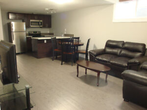 Fully furnished Legal Suite basement in Timberlea-Parsons Creek