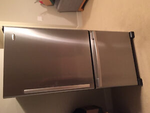 Stainless Steel Fridge. Whirlpool